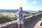 Sandra at Capulin Volcano