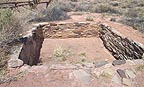Kiva at Anasazi site