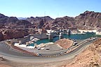 Hoover dam from the Arizona side