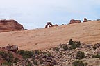 A slightly diferent view of Delicate Arch